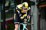 Jos Van Emden (NED) Team LottoNL-Jumbo in action during the opening Prologue of the 2018 Criterium du Dauphine running 6.6km around Valence, France. 3rd June 2018.<br /> Picture: ASO/Alex Broadway | Cyclefile<br /> <br /> <br /> All photos usage must carry mandatory copyright credit (&copy; Cyclefile | ASO/Alex Broadway)