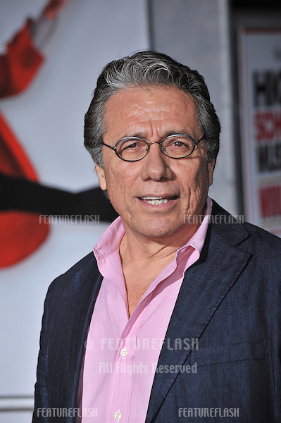 "Edward James Olmos at the Los Angeles premiere of ""High School Musical 3: Senior Year"" at the Galen Centre, Los Angeles..October 16, 2008  Los Angeles, CA.Picture: Paul Smith / Featureflash"