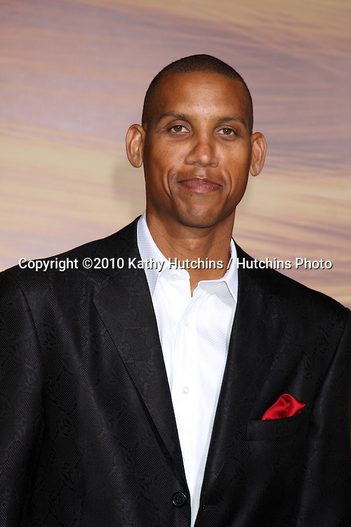 "LOS ANGELES - NOV 14:  Reggie Miller arrives at the ""Tangled"" World Premiere at El Capitan Theater on November 14, 2010 in Los Angeles, CA"