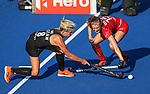 Gemma McCaw during the Pro League Hockey match between the Blacksticks Women and Belgium, National Hockey Arena, Auckland, New Zealand, 1st February 2020. Photo: Simon Watts/www.bwmedia.co.nz