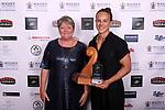 Lisa Carrington, Supreme Award Winner 2019. Harbour Sport Awards, Spencer on Byron Hotel, Auckland, Friday 15  November 2019. Photo: Simon Watts/www.bwmedia.co.nz