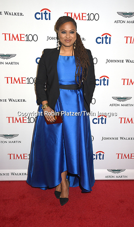 honoree Ava DuVernay attends the TIME 100 Gala on April 25, 2017 at Frederick P Rose Hall, Home of Jazz at Lincoln Center in New York, <br /> New York, USA.<br /> <br /> photo by Robin Platzer/Twin Images<br />  <br /> phone number 212-935-0770