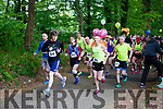 The runners take off  at thestart of the Killarney Marathon on Saturday morning