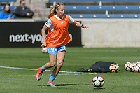 Bridgeview, IL - Saturday April 22, 2017: Alyssa Mautz during a regular season National Women's Soccer League (NWSL) match between the Chicago Red Stars and FC Kansas City at Toyota Park.