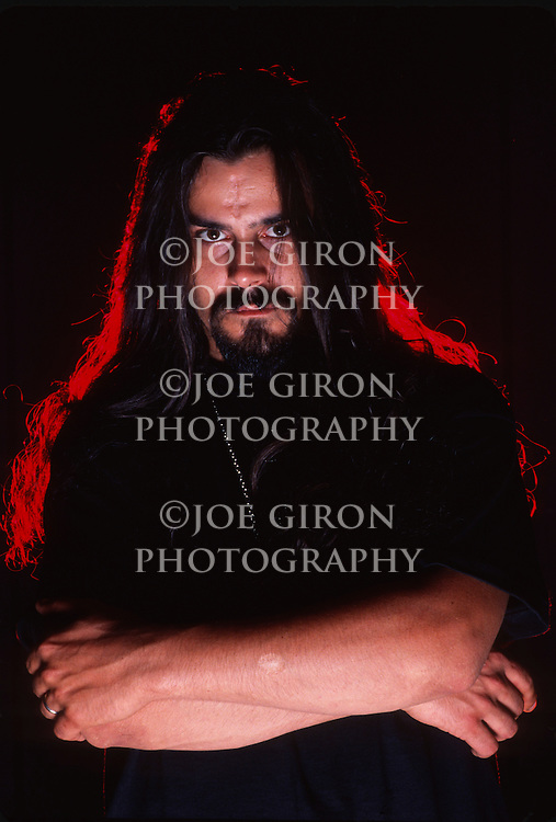 Various portrait sessions of the rock band, Deicide