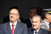 SAO PAULO, SP, 09.07.2016 - REVOLUÇÃO1932- Governador Geraldo Alckmin durante Desfile em comemoração à Revolução Constitucionalista de 1932 na região do Parque do Ibirapuera em São Paulo, neste sábado, 09.(Foto: Darcio Nunciatelli/Brazil Photo Press)
