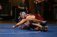 26 February 2006: Stanford's Scott Loescher during the Pac-10 Wrestling Championships at Maples Pavilion in Stanford, CA.