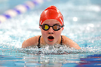 Picture by Richard Blaxall/SWpix.com - 14/04/2018 - Swimming - EFDS National Junior Para Swimming Champs - The Quays, Southampton, England - Chloe Akehurst of Sutton Cheam during the Women's Open 100m Breaststroke