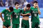07.09.2017, Stadion, Tianjin, CN. 13. Nationalen Chinesischen Fussballspielen, Zhejiang vs Shangai, im Bild , <br /> <br /> <br /> im Bild Yuning Zhang (Werder Bremen #19) im Finale im grünen Trikot - enttäuscht / enttaeuscht / traurig 2<br /> Foto © nordphoto / Oscar <br /> <br /> ++++ Attention ++++ ALL RIGHTS RESERVED Kein -Facebook -Twitter -Instagram -Social Media Web, keine online Galerie Pauschale,  Honorar und Belegexemplar Star People