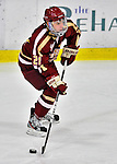 10 February 2012: Boston College Eagles forward Steven Whitney, a Junior from Reading, MA, in action against the University of Vermont Catamounts at Gutterson Fieldhouse in Burlington, Vermont. The Eagles defeated the Catamounts 6-1 in their Hockey East matchup. Mandatory Credit: Ed Wolfstein Photo