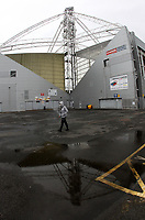 A general view of Deepdale the home of Preston North End<br /> <br /> Photographer Mick Walker/CameraSport<br /> <br /> The EFL Sky Bet Championship - Preston North End v Wigan Athletic - Saturday 10th August 2019 - Deepdale Stadium - Preston<br /> <br /> World Copyright © 2019 CameraSport. All rights reserved. 43 Linden Ave. Countesthorpe. Leicester. England. LE8 5PG - Tel: +44 (0) 116 277 4147 - admin@camerasport.com - www.camerasport.com