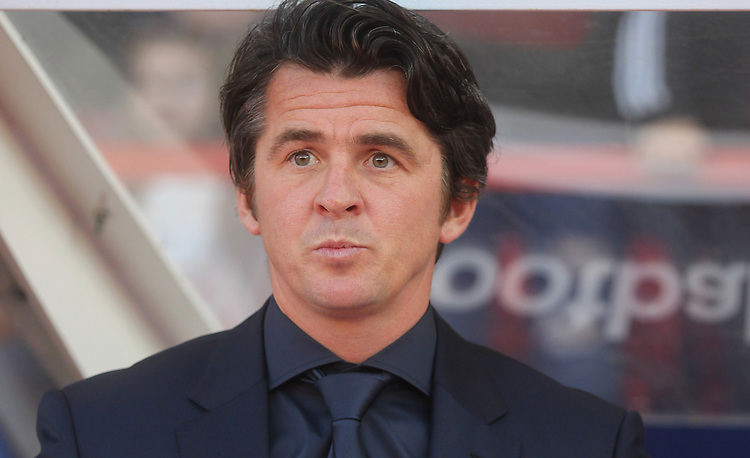 Fleetwood Town's Manager Joey Barton<br /> <br /> Photographer Mick Walker/CameraSport<br /> <br /> The Carabao Cup First Round - Nottingham Forest v Fleetwood Town - Tuesday 13th August 2019 - The City Ground - Nottingham<br />  <br /> World Copyright © 2019 CameraSport. All rights reserved. 43 Linden Ave. Countesthorpe. Leicester. England. LE8 5PG - Tel: +44 (0) 116 277 4147 - admin@camerasport.com - www.camerasport.com