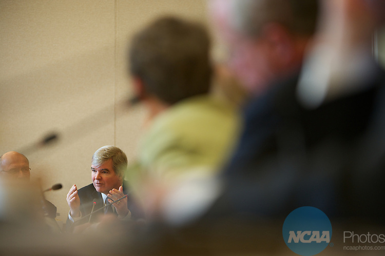 13 JAN 2011: The Division III President's Council meets during the annual NCAA Convention held in San Antonio,TX. .Pictured: Mark Emmert.(Joshua Duplechian/NCAA Photos).