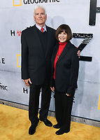 """09 May 2019 - Beverly Hills, California - Lt. Col. Jerry Jaax, Lt. Col. Nancy Jaax. National Geographic Screening of """"The Hot Zone"""" held at Samuel Goldwyn Theater. <br /> CAP/ADM/BB<br /> ©BB/ADM/Capital Pictures"""
