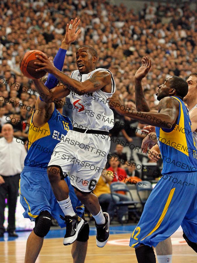 McCalebb Bo Sport Basketball Kosarka Partizan Makabi Maccabi Euroleague Evroliga Beogradska Arena Beograd Srbija 30.3.2010. photo: Pedja Milosavljevic / +381 64 1260 959 / thepedja@gmail.com / STARSPORT 