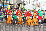 Legion GAA had a Cheltenham race includinding Kerry footballers James O'Donoghue and Jonathan Lyne at the Killarney St Patricks Day parade on Sunday ..