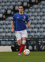 Lee Wallace in the Queen's Park v Rangers Irn-Bru Scottish League Division Three match played at Hampden Park, Glasgow on 29.12.12.
