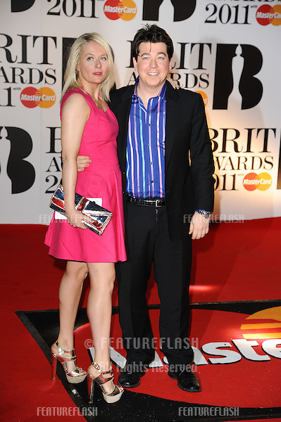 Michael McIntyre arriving for the Brit Awards 2011 at the O2 centre, Greenwich, London.  16/02/2011  Picture by: Steve Vas / Featureflash