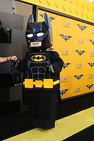 "LOS ANGELES - FEB 4:  Lego Batman at the ""Lego Batman Movie"" Premiere at Village Theater on February 4, 2017 in Westwood, CA"
