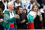 Grigor Dimitrov's fans during Madrid Open Tennis 2017 match. May 11, 2017.(ALTERPHOTOS/Acero)