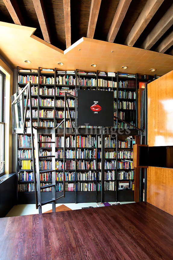 modern wall bookcase