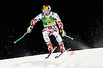 Marcel Hirscher competes during the FIS Alpine Ski World Cup Men's Parallel Giant Slalom in Alta Badia, on December 21, 2015. Norway's Kjetil Jansrud wins the race, Aksel Lund Svindal second and Sweden's Andre Myrher is third.