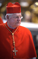 Italian cardinal Angelo Scola.Dean of the College of Cardinals Angelo Sodano leads a  during a Mass for the election of a new pope, at the St Peter's basilica on March 12, 2013 at the Vatican. The 115 cardinal electors who pick the next leader of 1.2 billion Catholics in a conclave in the Sistine Chapel will live inside the Vatican walls completely cut off from the outside world until they have made their choice..