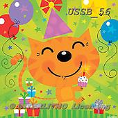 Sarah, CHILDREN BOOKS, BIRTHDAY, GEBURTSTAG, CUMPLEAÑOS, paintings+++++BdayKitty-12-A,USSB56,#BI# ,everyday ,everyday