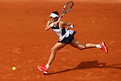 4th June 2017, Roland Garros, Paris, France; French Open tennis championships;   KRISTINA MLADENOVIC (FRA)  during day seven match of the 2017 French Open on June 4, 2017, at Stade Roland-Garros in Paris, France.