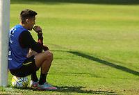 SÃO PAULO,SP,28.07.2016 - FUTEBOL-SÃO PAULO - Centurion durante treino técnico da equipe no Ct da Barra Funda zona oeste da cidade, na manhã desta quinta-feira (28). (Foto : Marcio Ribeiro / Brazil Photo Press)