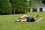Pressions, empilements et courses de bouts de corps jetés<br /> <br /> Chorégraphie : Sylvain Prunenec<br /> Compagnie : Association du 48<br /> Printemps de paroles 2012<br /> Parc de Rentilly<br /> Ville : Bussy saint martin<br /> Le 26/05/2012