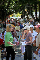 Over 260 artists displayed their works during the 32nd Annual Naples National Art Festival, one of the top ten art fairs in the country, at Cambier Park, Naples, Florida, USA, Feb. 26, 2011. Photo by Debi Pittman Wilkey