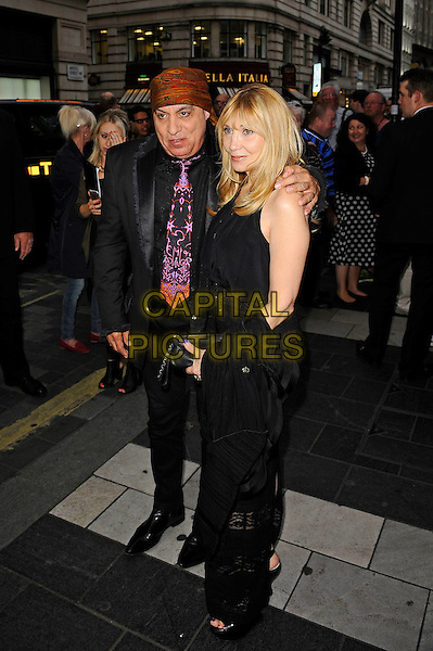 LONDON, ENGLAND - JULY 20: Steve Van Zandt and Maureen Van Zandt attending 'Sinatra: The Man and His Music' Press Night at the London Palladium, on July 20, 2015 in London, England.<br /> CAP/MAR<br /> &copy; Martin Harris/Capital Pictures