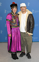 BERLIN, GERMANY - FEBRUARY 8: Dulamjav Enkhtaivan and Wang Quan&rsquo;an attend the Oendoeg photocall during the 69th Berlinale International Film Festival Berlin at the Grand Hyatt Hotel on February 8, 2019 in Berlin, Germany.<br /> CAP/BEL<br /> &copy;BEL/Capital Pictures