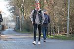 17.01.2020, Trainingsgelaende am wohninvest WESERSTADION,, Bremen, GER, 1.FBL, Werder Bremen Training ,<br /> <br /> Ankunft der Spieler am Stadion in  Zivil vor dem Auswaertsspiel in Duesseldorf<br />  im Bild<br /> <br /> Nick Woltemade (werder Bremen #41)<br /> Einzelaktion, Ganzkörper / Ganzkoerper<br /> <br /> Foto © nordphoto / Kokenge