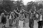 Gay Liberation Front 1970s, demonstrated against the Nationwide Festival of Light. The Festival of Light was a Christian protest movement against the English so called permissive society Hyde Park London September 1971 70s UK HOMER SYKES