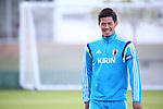 Hotaru Yamaguchi (JPN),<br /> JUNE 22, 2014 - Football / Soccer : Japan's national soccer team training session at Japan's team base camp at Training Site Pass in Itu Brazil.<br /> (Photo by Kenzaburo Matsuoka/AFLO)