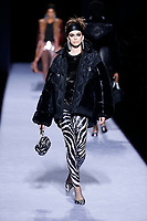 Tom Ford<br /> Kaia Gerber<br /> New York Fashion Week <br /> FW18<br /> <br /> New York Fashion Week,  New York, USA in February 2018.<br /> CAP/GOL<br /> &copy;GOL/Capital Pictures