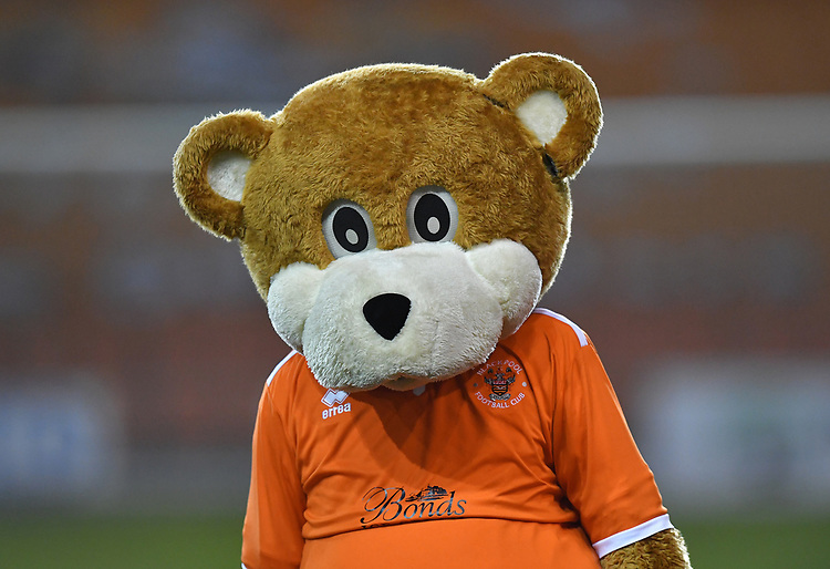 Club mascot<br /> <br /> Photographer Dave Howarth/CameraSport<br /> <br /> The EFL Sky Bet League One - Blackpool v Doncaster Rovers - Tuesday 12th March 2019 - Bloomfield Road - Blackpool<br /> <br /> World Copyright © 2019 CameraSport. All rights reserved. 43 Linden Ave. Countesthorpe. Leicester. England. LE8 5PG - Tel: +44 (0) 116 277 4147 - admin@camerasport.com - www.camerasport.com