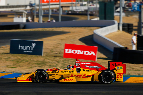 Verizon IndyCar Series<br /> GoPro Grand Prix of Sonoma<br /> Sonoma Raceway, Sonoma, CA USA<br /> Sunday 17 September 2017<br /> Ryan Hunter-Reay, Andretti Autosport Honda<br /> World Copyright: Jake Galstad<br /> LAT Images