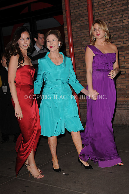 WWW.ACEPIXS.COM . . . . . .November 7, 2011...New York City...Barbara Bush, Laura Bush and Jenna Bush Hager attend the 21st annual Glamour Women of the Year Awards at Carnegie Hall on November 7, 2011in New York City....Please byline: KRISTIN CALLAHAN - ACEPIXS.COM.. . . . . . ..Ace Pictures, Inc: ..tel: (212) 243 8787 or (646) 769 0430..e-mail: info@acepixs.com..web: http://www.acepixs.com .