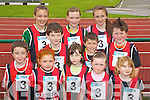 Glenbeigh Team at the Kerry community games athlethics finals at an Riocht, Castleisland on Saturday..Front from left: Padraig Brennan, Chloe Garcia, Danielle Griffin, Roisin Smith, Sinead King, .Middle row: Patrick Griffin Ethan Garcia, Liam Smith.Back Row: Danika O'Grady, Emma Sheahan and Isobell Moore.