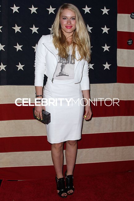 WEST HOLLYWOOD, CA - NOVEMBER 01: Leven Rambin at Nylon Magazine November 2013 Issue Party held at Sunset Marquis Hotel & Villas on November 1, 2013 in West Hollywood, California. (Photo by Xavier Collin/Celebrity Monitor)