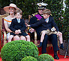 "ROYALS TWINS PROVE A HANDFUL.Keeping children entertained is not an easy task..Having to watch events that included a military parade in Brussels on the Belgian National Day made Royal twins Princes Nicolas and Aymeric made them restless. Despite the attention of their parents Princess Claire and Prince Laurent of Belgium the boys came close to getting into harm with a ceremonial sword. Fortunately for their mother's observance they were stopped in time, Brussels_21/07/2012.Photo Credit: ©Alain Rolland/Newspix International..**ALL FEES PAYABLE TO: ""NEWSPIX INTERNATIONAL""**..PHOTO CREDIT MANDATORY!!: NEWSPIX INTERNATIONAL..IMMEDIATE CONFIRMATION OF USAGE REQUIRED:.Newspix International, 31 Chinnery Hill, Bishop's Stortford, ENGLAND CM23 3PS.Tel:+441279 324672  ; Fax: +441279656877.Mobile:  0777568 1153.e-mail: info@newspixinternational.co.uk"