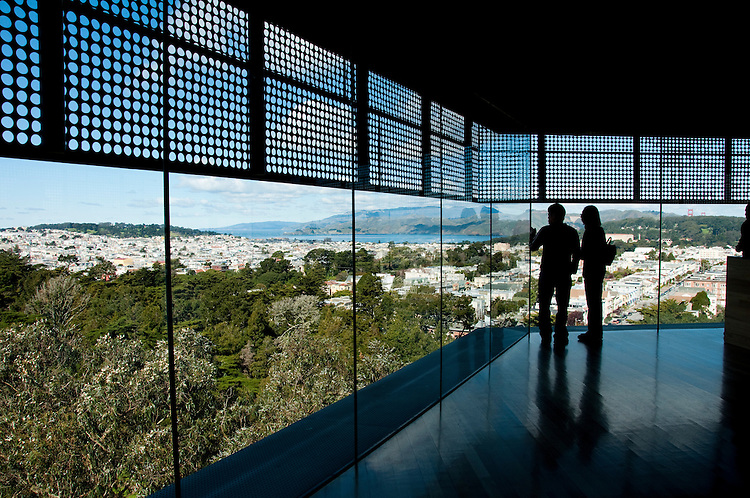 De Young Museum, Golden Gate Park, San Francisco, California, USA.  Photo copyright Lee Foster.  Photo # california108812