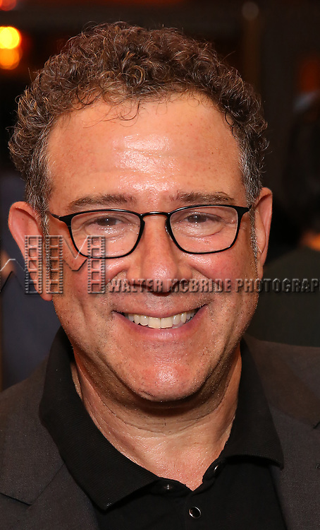 Michael Greif attends the Broadway Opening Night performance of The Roundabout Theatre Company production of 'Time and The Conways'  on October 10, 2017 at the American Airlines Theatre in New York City.