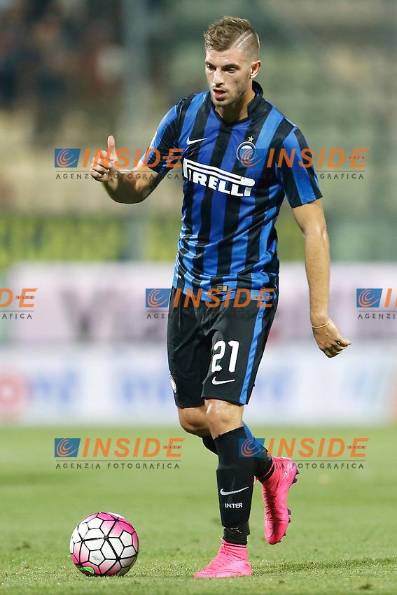 Davide Santon Inter <br /> Modena 30-08-2015 Stadio Alberto Braglia Football Calcio Serie A 2015/2016 Carpi - Inter Foto Insidefoto