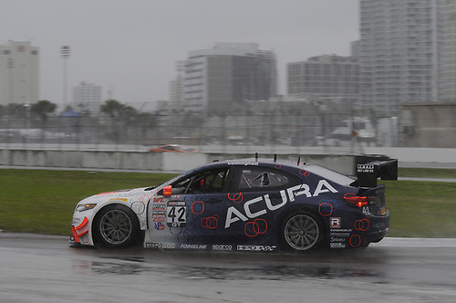 27 March, 2015, St Petersburg, Florida, USA<br /> #42 Peter Cunningham, Acura TLX-GT<br /> © 2015, Jay Bonvouloir, ESCP
