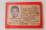 Jose M Lazo De La Vega's ID Card,  Invasion Museum, Giron Museum, Bay Of Pigs (1961)