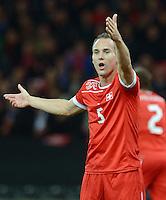 Fussball International  WM Qualifikation 2014   12.10.2012 Schweiz - Norwegen Steve von BERGEN (Schweiz)